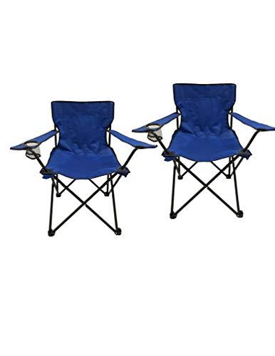 Homecall Silla de Acampada, Azul