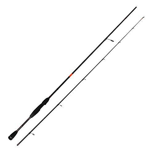 HTO Rockfish '19 Caña de Pescar, Unisex, Negro/Naranja, 8'6', 5-28g