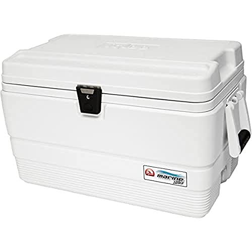 Igloo Marine Ultra 54 Nevera, 51 litros, Blanco