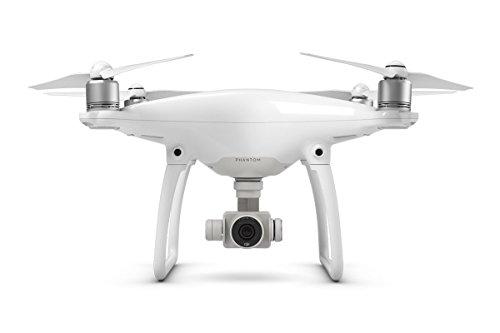 DJI Phantom 4 - Drone cuadricóptero (velocidad 20 m/s, 4000 x 3000p, 5350 mAh), color blanco