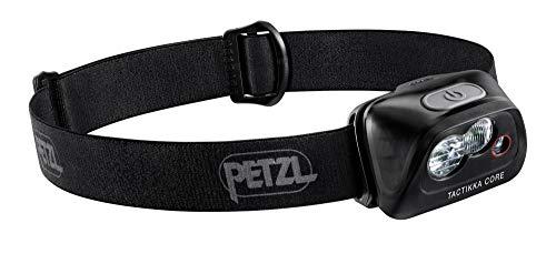 PETZL TACTIKKA Core Linterna Negra lámpara, Unisex-Adult, One Size
