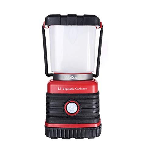 Weltool L1 Lámpara de Cámping LED, Portable Camping Lantern, Farol Cámping, Antorchas Cámping, Warm White, Waterproof Shock Proof Luz de Trabajo Exterior, Senderismo, Pesca, Acampar, emergencias