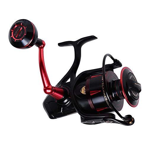 PENN Slammer III Carrete de Pesca de Agua Salada – Metal Completo, Resistente Spinning, Jigging o señuelo – para Barco, Costa o Kayak