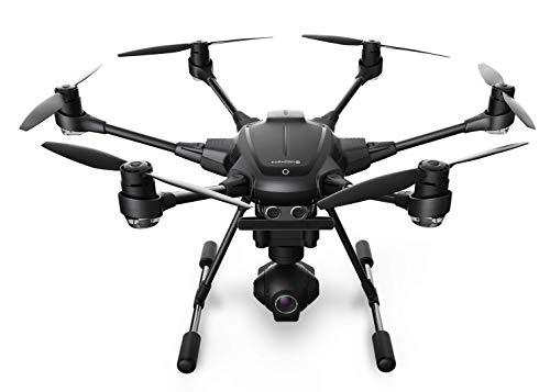 Yuneec Typhoon H Pro 4K UHD Cámara Drone con Intel RealSense + Mochila - Gris