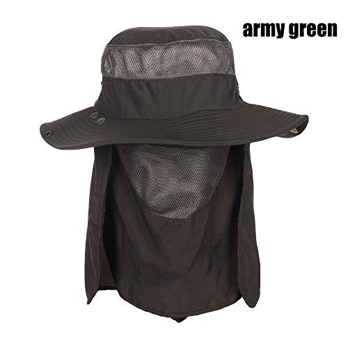sombrero de la selva sombrero de montañismo accesorios de vestir regalos de navidad regalo de cumpleaños al aire libre extraíbles ir de primavera y verano casquillo de la pesca de los hombres