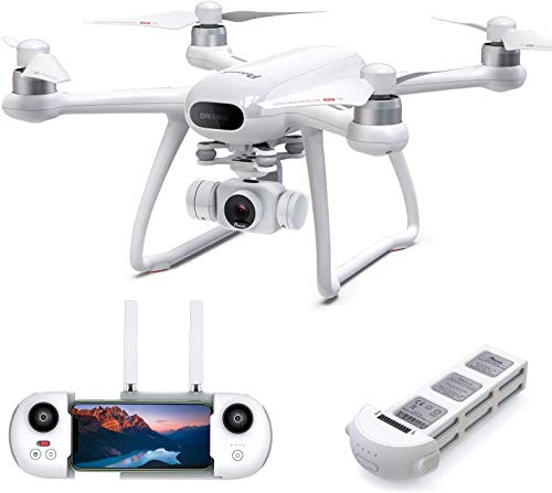 Potensic Dreamer 4K Drone GPS, Dron con Cámara Ultra HD, Largo 31 Min, Motor sin escobillas, Regreso Automático a Casa, FPV Drone WiFi, Sígueme, Retención de Altitud, Profesional Dron para Adulto