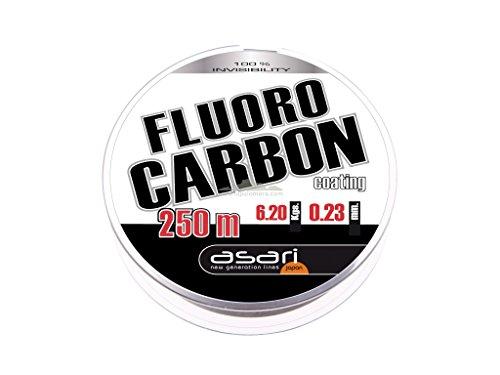 Asari - Fluorocarbon Coating 250, Color Transparente, Talla 0.250 mm
