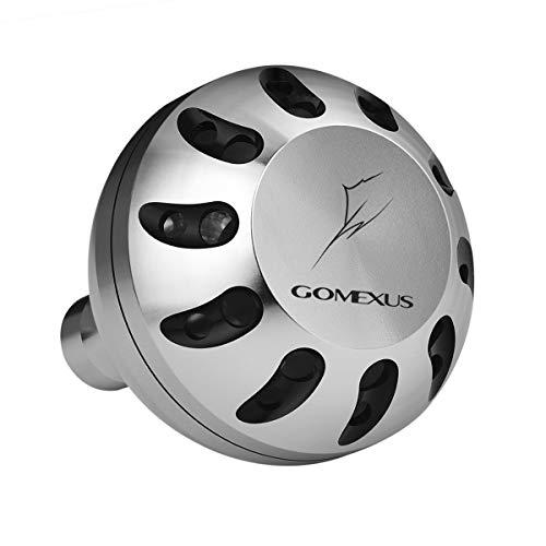 GOMEXUS Pomo Carrete para Shimano Stella SW Bull's Eye Spheros SW A Perilla Carretes de Pesca Spinning Directo, 45mm, Metal