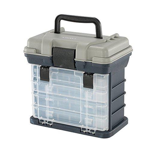 Lixa-da Caja de Pesca Multicapa para Señuelos de Pesca, para Cebo Artificial con Anzuelos, Resistente al Agua