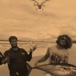la mejor experiencia con drones para pescar